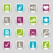 16 Internet Icons Part 2 — Stock Vector #9728082