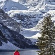 Lake Louise Winter Wonderland — Stock Photo