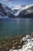 Lake Louise Winter Wonderland — Stock Photo