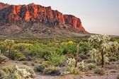 Mountians deserto — Foto Stock