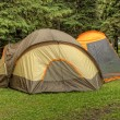 Tent in Camp Site — Stock Photo