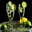 Stock Photo: Lemons and Limes