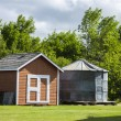 Shed and Grain Bin — Stockfoto #9700379