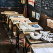 Stock Photo: Vintage Classroom