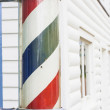 Classic Barber Shop Pole — Stockfoto #9701374