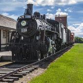 Prairie Train Station — Stock Photo