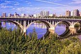 City of Bridges — Stock Photo