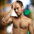 Regret young man — Stock Photo