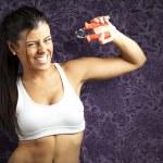 Sporty woman — Stock Photo #10176797