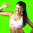 Sporty young woman — Stock Photo #10176798