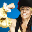 Royalty-Free Stock Photo: Pirate woman