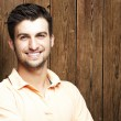 Young man smiling — Stock Photo #10177478
