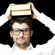 Young man with books — Stock Photo #10177948