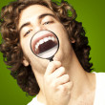 Man showing teeths — Stock Photo #10179314