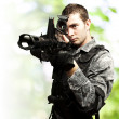 Young soldier — Stockfoto