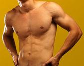 Muscolare uomo — Foto Stock