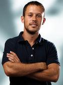 Hombre con camisa de polo — Foto de Stock