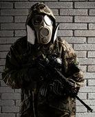 Joven soldado — Foto de Stock