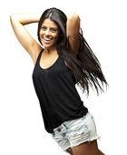 Giovane donna in posa — Foto Stock