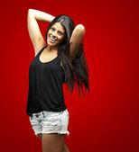 Young woman posing — Stock Photo