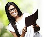Mulher estudando — Foto Stock