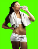 Mulher jovem e desportiva — Foto Stock