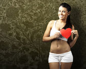 Healthy woman — Foto Stock