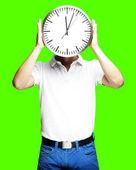 Horloge holding homme — Photo