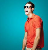 Man with sunglasses — Stock Photo