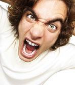 Man shouting — Stock Photo