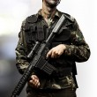 Young soldier with rifle — Stock Photo #10180001