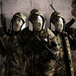 Three armed soldiers — Stock Photo #10180243
