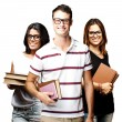 Students group — Stock Photo