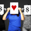 Stock Photo: The value of love