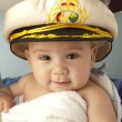 Baby sailor — Stock Photo