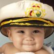Baby sailor — Stock Photo #10182009