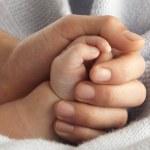 Baby hand — Stock Photo