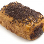 Chocolate bun — Stock Photo #10187048