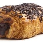 Chocolate bun — Stock Photo