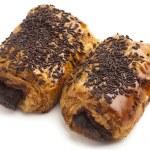 Chocolate bun — Stock Photo #10187059