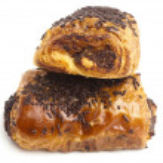 Chocolate bun — Stock Photo #10187070