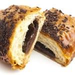 Chocolate bun — Stock Photo #10187099