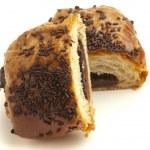 Chocolate bun — Stock Photo #10187103
