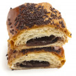 Royalty-Free Stock Photo: Chocolate bun