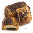 Chocolate bun - Stock Photo