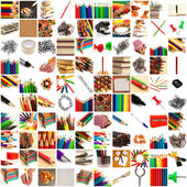 Group of educational objects — Stock Photo