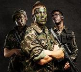 Groupe de soldats — Photo
