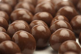 Chocolate balls — Stockfoto