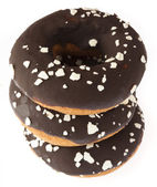 Chocolate donut — Stock Photo
