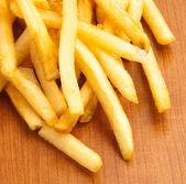 Fried potato chips — Stock Photo